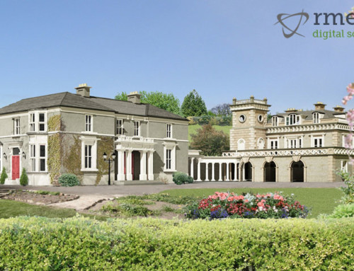 3D Rendering of Killiney House